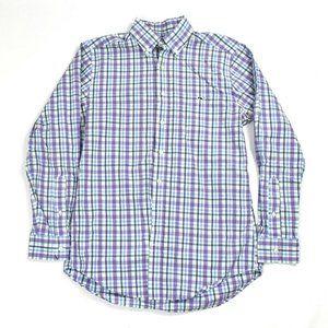 Vineyard Vines Men's Sz M Shirt  Button Down  Plai